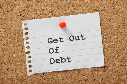 get out of debt strategies