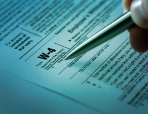 W-4 Tax Withholding