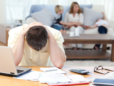stress and finances