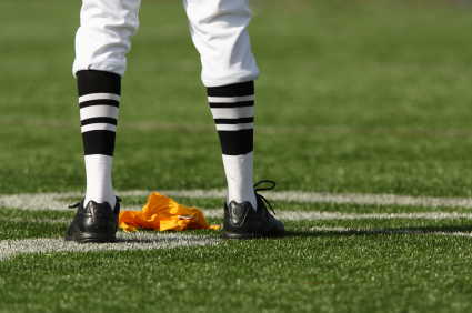 Referee Yellow Flag