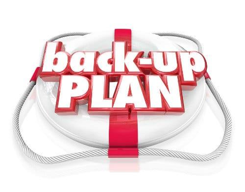financial back up plan
