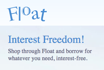 Float Interest Free loans no penalties no fees.