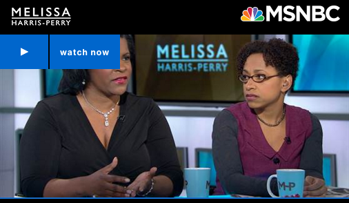 Lynnette Khalfani-Cox on Melissa Harris Perry Show