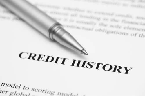 credit report credit history