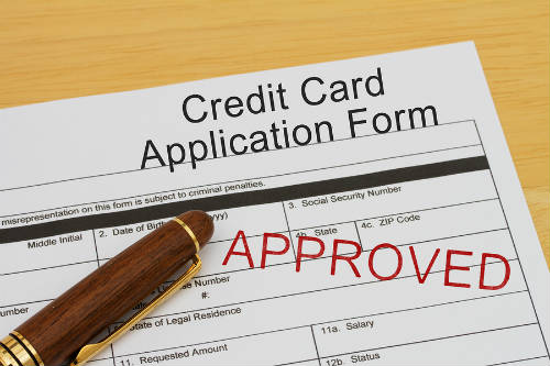 approved for a credit card