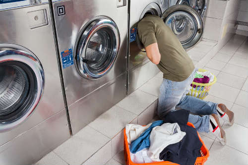 save money on laundry while in college