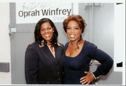Oprah and Lynnette Khalfani-Cox