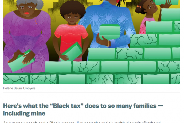 """Here's what the """"Black tax"""" does to so many families (Vox)"""